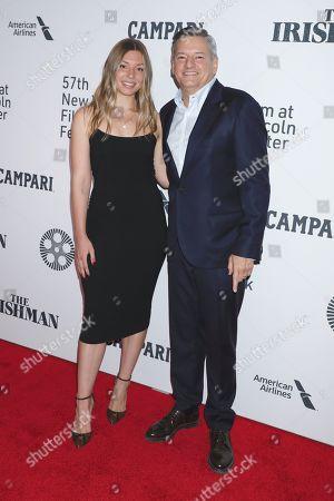 Ted Sarandos and daughter Sarah Sarandos