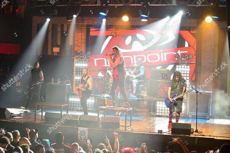 Nonpoint - Ahrue Luster, Adam Woloszyn, Elias Soriano, Robb Rivera and Rasheed Thomas