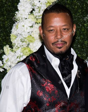 """Terrence Howard attends the Whitaker Peace & Development Initiative """"Place for Peace"""" benefit gala at Gotham Hall, in New York"""