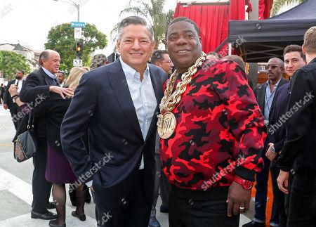 Ted Sarandos and Tracy Morgan