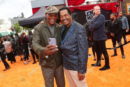 Samuel L. Jackson and Bobby Rush