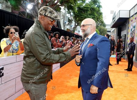 Stock Photo of Samuel L. Jackson and Craig Brewer