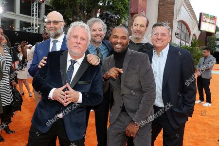 Stock Image of Craig Brewer, Larry Karaszewski, Scott Alexander, Mike Epps, Bob Odenkirk and Ted Sarandos