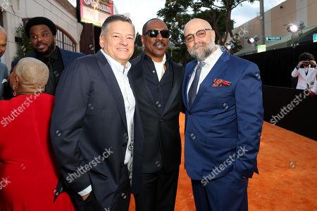 Ted Sarandos, Eddie Murphy and Craig Brewer