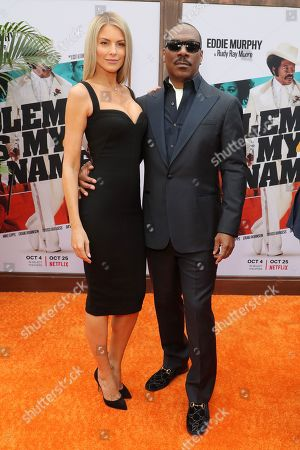 Stock Image of Paige Butcher and Eddie Murphy