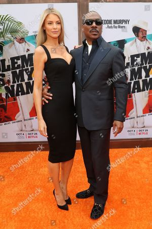 Stock Picture of Paige Butcher and Eddie Murphy