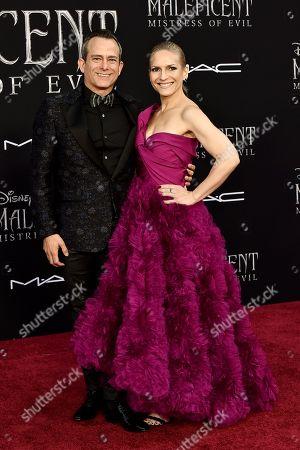 Stock Picture of Geoff Zanelli and Jennifer Jardine