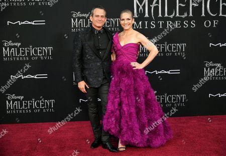 Geoff Zanelli and Jennifer Jardine