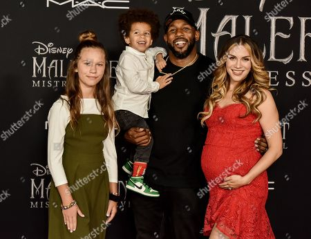 Weslie Fowler, Maddox Laurel Boss, Stephen Boss and Allison Holker