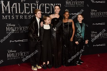 Editorial picture of 'Maleficent: Mistress of Evil' film premiere, Arrivals, El Capitan Theatre, Los Angeles, USA - 30 Sep 2019