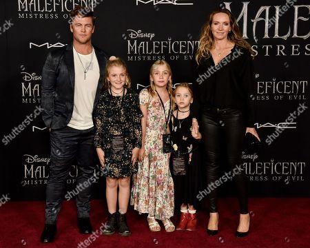 Luke Hemsworth, Ella Hemsworth, Holly Hemsworth, Harper Rose Hemsworth and Samantha Hemsworth