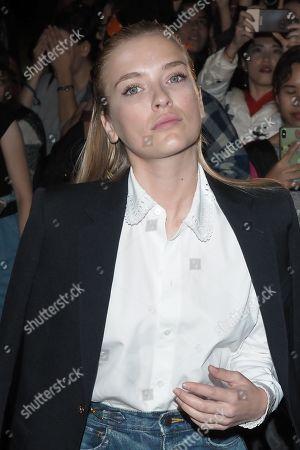 Editorial image of Celine show, Arrivals, Spring Summer 2020, Paris Fashion Week, France - 27 Sep 2019