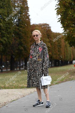 Editorial photo of Street Style, Spring Summer 2020, Paris Fashion Week, France - 26 Sep 2019