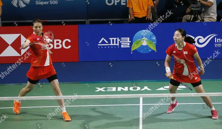 Editorial picture of Korea Open 2019 badminton championships, Incheon - 28 Sep 2019