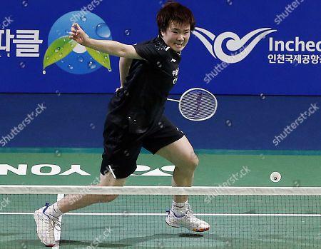 Editorial picture of Korea Open 2019 badminton championships, Incheon - 28 Sep 2019