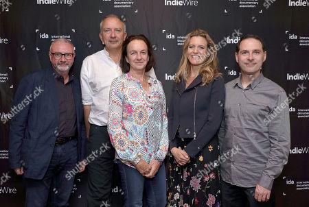 IDA's Simon Kilmurry, Director/Producer/Co-Editor Victoria Stone, Director Mark Deeble, Proiducer Lucinda Engelhard and Composer Alex Heffes,