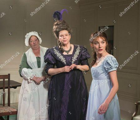 Sally Bankes as Nanny, Jane Booker as Lady Osborne, Grace Moloney as Emma Watson,