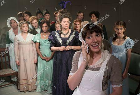 Jane Booker as Lady Osborne, Louise Ford as Laura, Grace Moloney as Emma Watson,