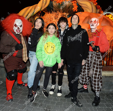 Editorial picture of Celebrities at Knott's Scary Farm, Los Angeles, USA - 27 Sep 2019