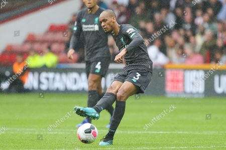 Liverpool midfielder Fabinho (3) during the Premier League match between Sheffield United and Liverpool at Bramall Lane, Sheffield