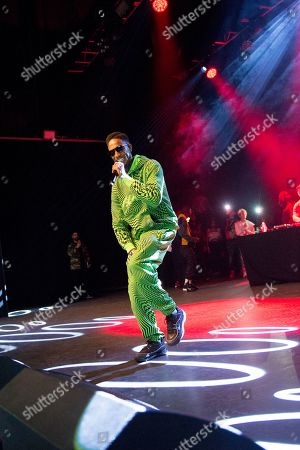Stock Picture of D Double E (Darren Dixon) of Newham Generals