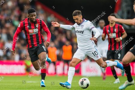 Editorial photo of Bournemouth v West Ham United, Premier League - 28 Sep 2019