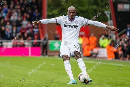 Stock Photo of Angelo Ogbonna (West Ham) during the Premier League match between Bournemouth and West Ham United at the Vitality Stadium, Bournemouth