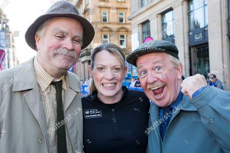 Ford Kiernan (Victor), Eilidh Doyle and Gregory Edward Hemphill (Jack) from 'Still Game'