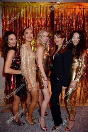 Editorial image of Alison Urquhart Studio 54 birthday party, The Berkeley, London, UK - 28 Sep 2019