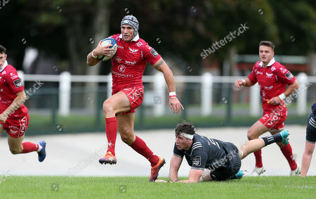 Editorial photo of Scarlets A v Munster A - Celtic Cup - 28 Sep 2019