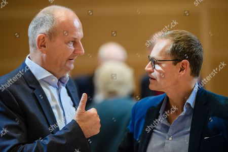 Editorial picture of Germany Social Democrats Party closed board meeting in Berlin - 28 Sep 2019