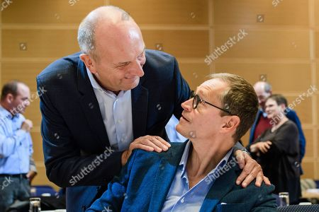 Editorial image of Germany Social Democrats Party closed board meeting in Berlin - 28 Sep 2019