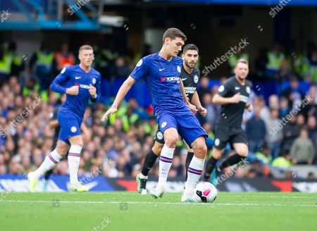 Andreas Christensen of Chelsea in action