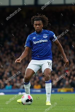 Everton's Alex Iwobi in action during todays match   Terry Donnelly/Mercury Press The Premier League - Everton v Manchester City - Saturday 28th September 2019 - Goodison Park - Liverpool