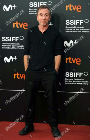 Tim Roth poses for the media during the closing ceremony of the 67th edition of the San Sebastian International Film Festival (SSIFF) in San Sebastian, Spain, 28 September 2019. The festival runs from 20 to 28 September.