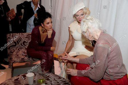 Halsey, Vivienne Westwood and Pamela Anderson
