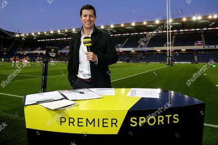 Edinburgh vs Zebre. Premier Sports' Hugo Southwell