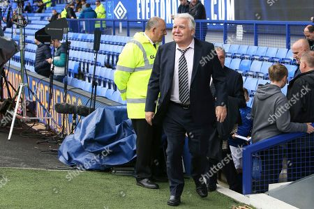 Stock Image of Everton Chairman Bill Kenwright before  the Premier League match between Everton and Manchester City at Goodison Park, Liverpool