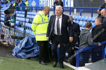Everton Chairman Bill Kenwright before the Premier League match between Everton and Manchester City at Goodison Park, Liverpool