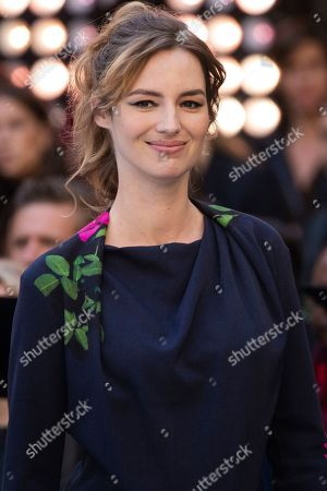 Louise Bourgoin attends the L'Oreal Ready To Wear Spring-Summer 2020 collection, unveiled during the fashion week, in Paris