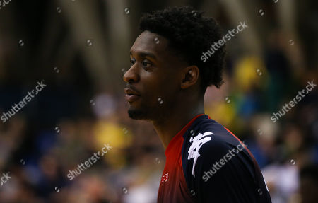 Levi Bradley of Bristol Flyers during the warm up
