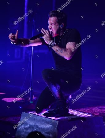 Editorial picture of Scott Stapp in concert at The Broward Center, Fort Lauderdale, Florida, USA - 27 Sep 2019