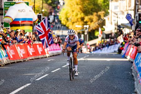 Stock Photo of Lizzie Deignan during the road race.