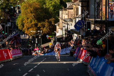 Stock Image of Lizzie Deignan during the road race.