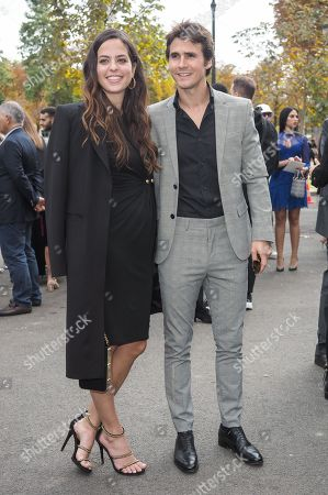 Stock Picture of Anouchka Delon and Julien Dereins