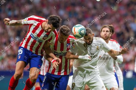 Editorial picture of Atletico Madrid vs Real Madrid, Spain - 28 Sep 2019