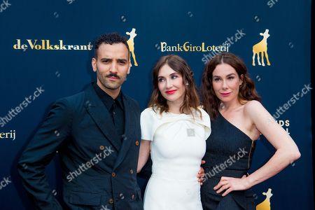 Stock Photo of Halina Reijn, Carice van Houten and Marwan Kenzari
