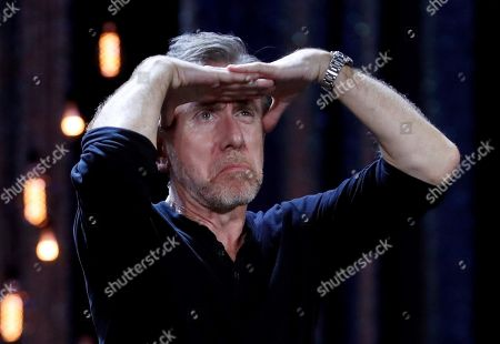 Tim Roth presents the movie 'The Song of Names' during the closing ceremony of the 67th San Sebastian International Film Festival (SSIFF), in San Sebastian, Spain, 28 September 2019. The festival runs from 20 to 28 September.