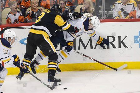 Editorial image of Sabres Penguins Hockey, Pittsburgh, USA - 28 Sep 2019