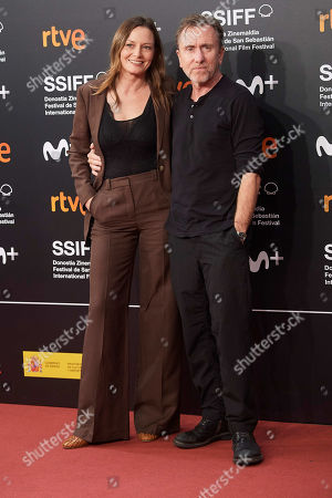 Stock Image of Catherine McCormack, Tim Roth